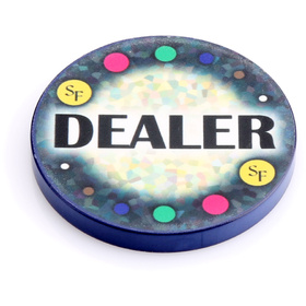 Mosaics Dealer Button