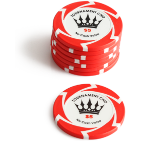 $5 Crown Millions Poker Chip
