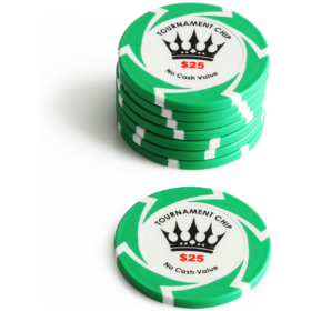 $25 Crown Millions Poker Chip