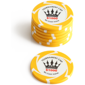 $1000 Crown Millions Poker Chip