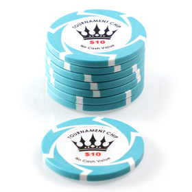 $10 Crown Millions Poker Chip