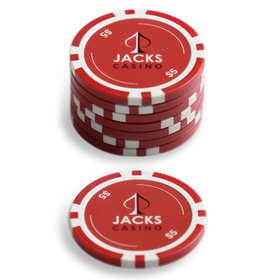 $5 Jacks Casino Chip