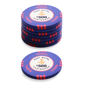 $500 Port Royal Poker Chip