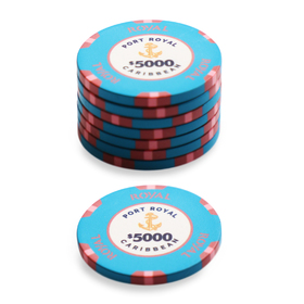 $5000 Port Royal Poker Chip