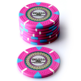 $5000 The Mint Poker Chip