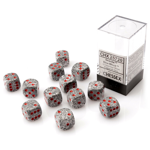 Chessex Granite Dice Block™ (12 dice)