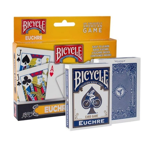 Bicycle Games | Euchre 2 Deck Set