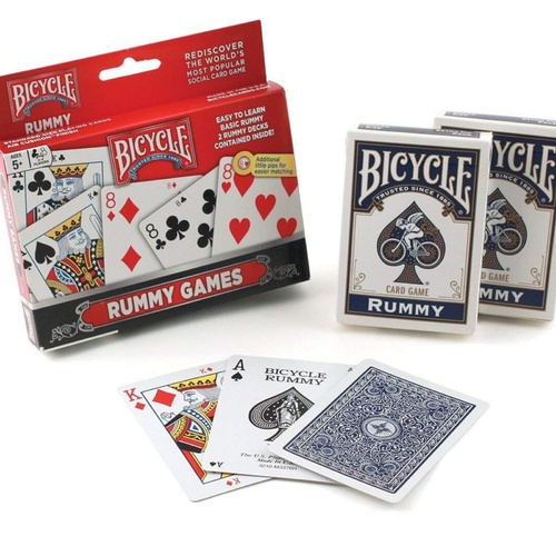 Bicycle Games | Rummy 2 Deck Set