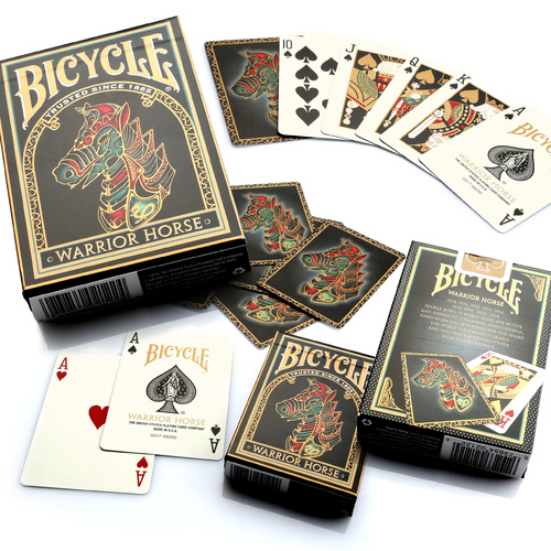 Bicycle Warrior Horse Playing Cards (Single Deck)
