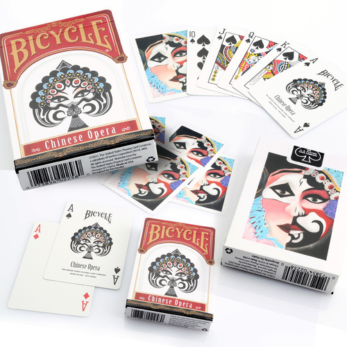 Bicycle Chinese Opera Cards Single Deck