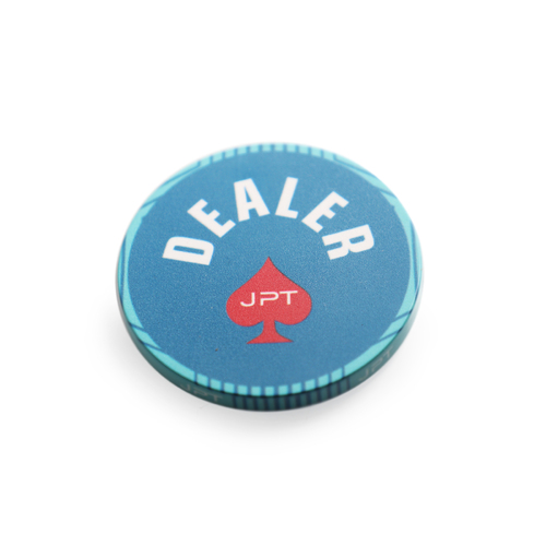 JPT Ceramic Dealer Button (Jumbo 60mm Size)